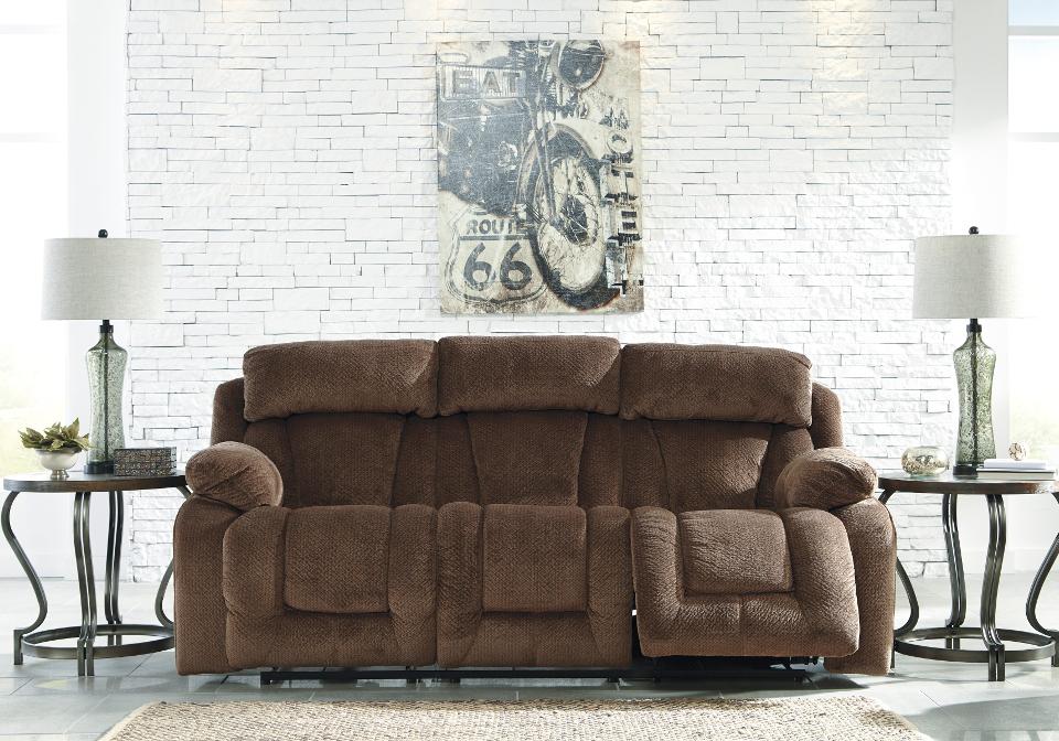 Miraculous Stricklin Chocolate Reclining Power Sofa Andrewgaddart Wooden Chair Designs For Living Room Andrewgaddartcom