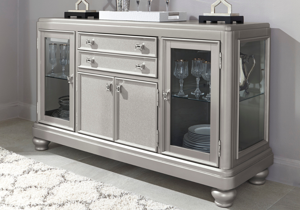 Coralayne Dining Room Server | Local Overstock Warehouse | Online ...