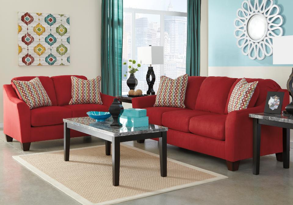Hannin Spice Sofa Set