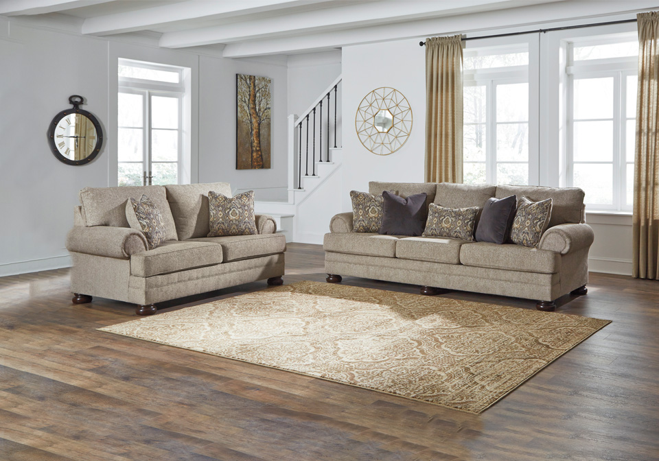 Kananwood Oatmeal Sofa Set Local Overstock Warehouse