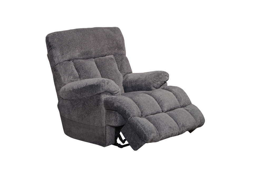 Sterling Pewter Power Lay Flat Recliner Local Overstock Warehouse Online Furniture And